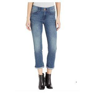 Vintage American Blues Boyfriend Cropped Jeans